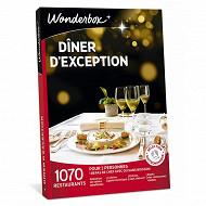 Wonderbox Diner d'exception