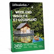 Coffret Wonderbox : week-end insolite & gourmand