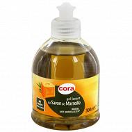 Cora gel lavant savon de Marseille pompe 300ml