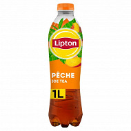 Lipton ice tea pêche pet 1l