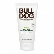 Bulldog gel nettoyant visage original 150ml