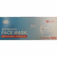 Masques chirurgicaux en boîte de 50