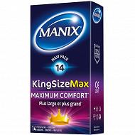 Manix préservatifs king size max  x14