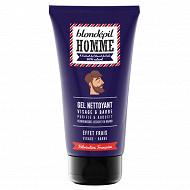Blondépil homme gel nettoyant visage et barbe 150 ml