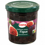 Cora confiture figue bocal 370g