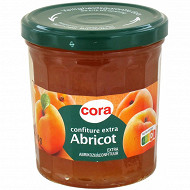 Cora confiture extra d'abricot 370g