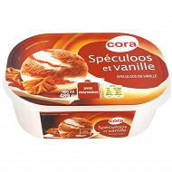 Cora crème glacée vanille spéculoos bac 900ml - 489g