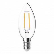 Getic ampoule LED flamme claire equivalent 40W E14