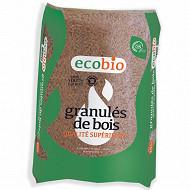 Pellets Granulés de bois Ecobio - Sac de 15 kg
