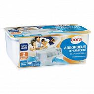 Cora absorbeur d'humidité avec 2 recharges 1 kg