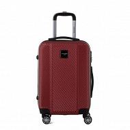 Valise  rigide 50cm rouge