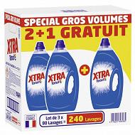 Xtra lessive total 3x4l