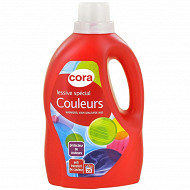 Cora lessive liquide spéciale couleur 1.5l
