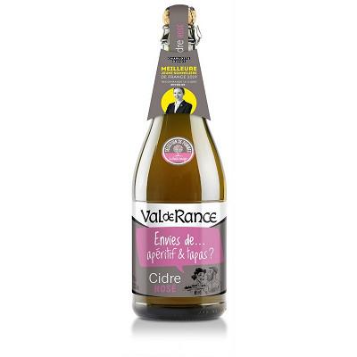 Val de Rance Val de rance cidre bouche envie de rosé 75cl 2.5%vol
