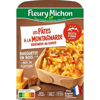 Fleury Michon Pâtes à la montagnarde lardons et comté 300g