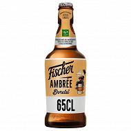 Fischer dorelei bière ambrée 65cl 6.3%vol