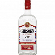 Gibson's London dry gin 70cl 37.5%vol
