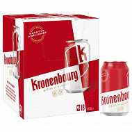 Kronenbourg can 18x33cl 4.2%vol