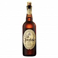 La goudale bière blonde à l'ancienne 75 cl 7,2%vol