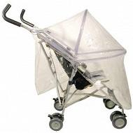 Habillage pluie avec armature pour poussette sans canopy