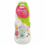 Biberon 120 ml en polypropylène tétine silicone débit variable tree birds Cora
