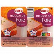 Cora mousse de foie 2x50 g