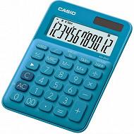 Casio calculatrice bureau ms20 uc bleue