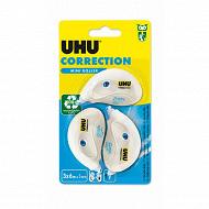 Uhu 3 mini roller correcteur 6 mètres x 5 mm