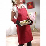Gant de cuisine tymeo rouge