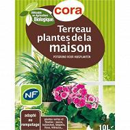 Cora terreau plantes de la maison utilisable en agriculture biologique 10 L