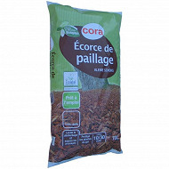 Cora écorce de paillage 70l calibre 10/30mm utilisable en agriculture biologique