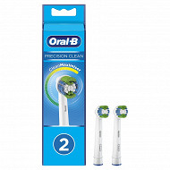 Oral B power precision clean brossette maximiser x2