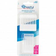 Efiseptyl brossettes interdentaires jetables x60