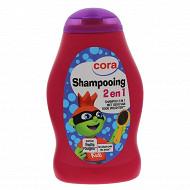 Cora shampooing 2 en 1 fruits rouges 250ml