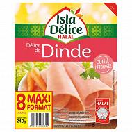 Isla délice délice de dinde halal 8 tranches 240g
