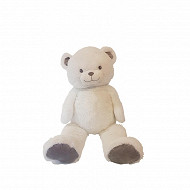 Grey gaston ours blanc de 1 mètre