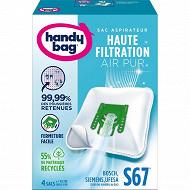 Handy bag sac aspirateur S67
