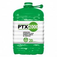 PTX 2000 combustible liquide 20L pour appareil mobile de chauffage