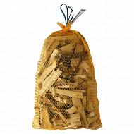 Bois allumage à usage domestique 100 % résineux Filet 20 litres 4,5 dm3 / 6 dm3