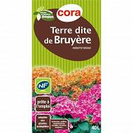 Cora terre dite de bruyère utilisable en agriculture biologique 40l