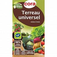 Cora terreau universel utilisable en agriculture biologique 40 litres