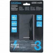 Grundig batterie externe 4000ah aluminium noir