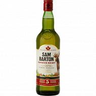 Sam Barton whisky canadien 5 ans 70cl 40%vol