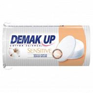 Demak'Up coton démaquillant sensitive oval x48