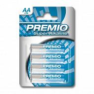 Premio 4 piles alcalines AA
