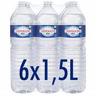 Cristaline eau de source naturelle 6 x 1,5l