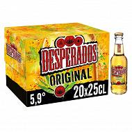 Desperados original bière aromatisée téquila 20x25 cl 5,9% Vol.