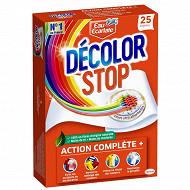 Décolor Stop Lingettes Anti-Décoloration x25