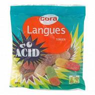 Cora langues acide sachet 200g