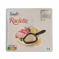 Raclette tanches 800g